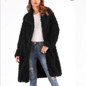 Jackets & Blazers - 🖤AMAZING🖤SOFTEST WATERFALL COLLAR TEDDY COAT
